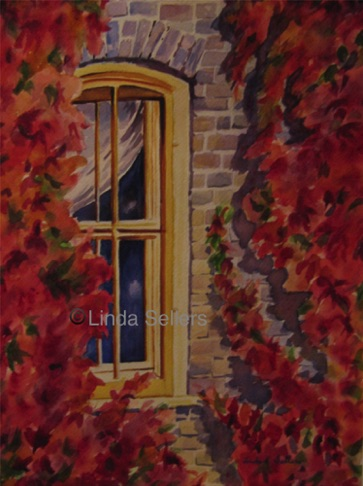 """Evelyn's Window"" SOLD. Prints $35."